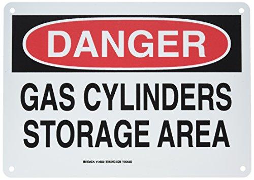Brady 126232 Chemical and Hazard Sign, Legend