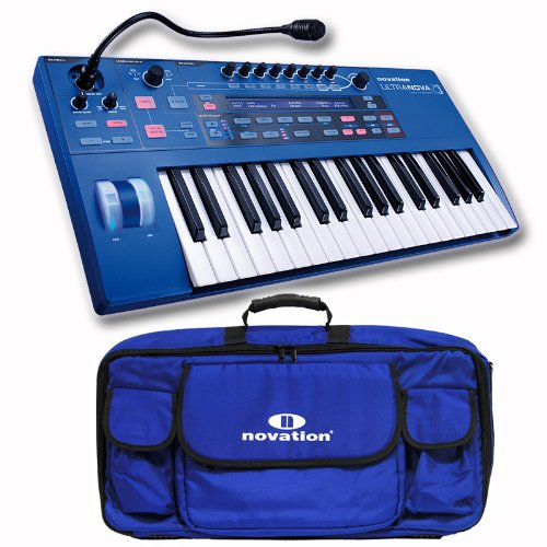 Novation UltraNova Keyboard Synthesizer with Carrying Case