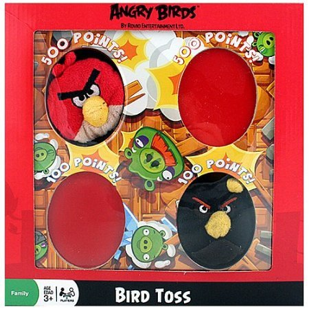 Angry Birds Bird Toss (with Red and Black bird)