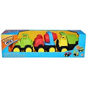 Sizzlin 39 cool mini construction truck set for 10 in 1 game table toys r us