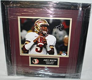Jameis Winston Hand Signed Florida State FSU Seminoles 8 x 10 Photo 1 - Custom Framed... by VIP+Memorabilia