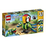 LEGO Creator Rainforest Animals 3 Set Bird Lizard Intl Fish 31031