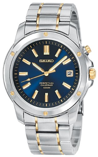 Men's Seiko® Perpetual Calendar Watch