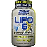 Nutrex - LIPO 6 X - 120 Liquid Multi-Phase Capsules - Advance Formula (120 caps)