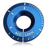 TOPDECO 高級感 UP アルミ キー ベゼル / アウディ A1 A3 A4 Q3 TT / ワーゲン ゴルフ 6 7 ティグアン ポロ ジェッタ 等に
