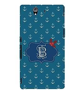 EPICCASE anchor of B Mobile Back Case Cover For Sony Xperia Z (Designer Case)