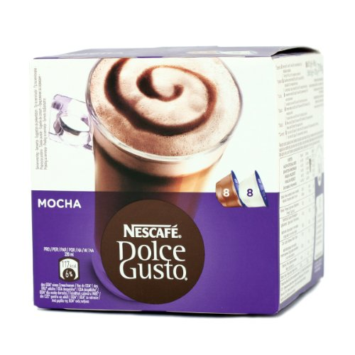 Find Nestle 'Mocha' for Dolce Gusto coffee capsules 16 Capsules (8 Servings) - Nescafe