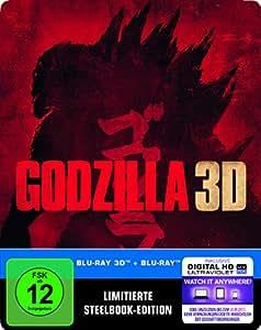 Godzilla Steelbook (exklusiv bei Amazon.de) [3D Blu-ray] [Limited Edition]
