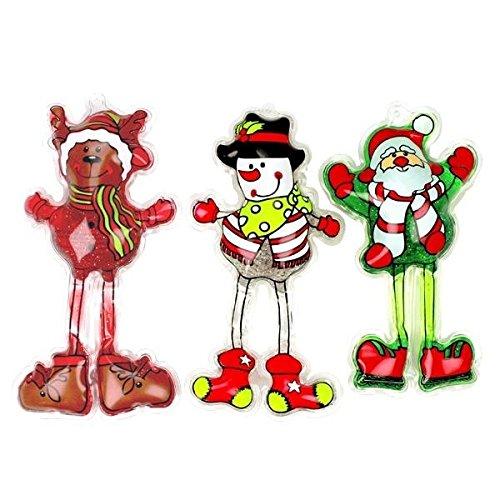 Geschenkset - 3 x Dusch- und Badegel Weihnachten: Nikolaus, Schneemann & Elch