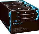 Five Cobalt Sugar Free Gum, Peppermint, 15 Piece Packages, 10-Count