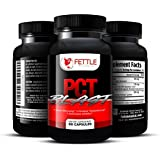 Pct Blast Post Cycle Supplement Post Cycle Support Testosterone Booster Boost Free Testosterone Levels 30 Day Cycle, Anti-estrogen Supplement, Anti-aromatase Inhibitor, Top Rated PCT Fettle Botanical