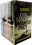 John Sandford John Sandford Lucas Davenport Prey 5 Books Collection Set RRP 34.95 (Broken Prey, Winter Prey, Mortal Prey, Storm Prey, Phantom Prey)