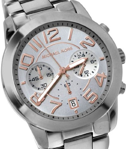 Michael Kors Mercer MK5725 Silver Watch