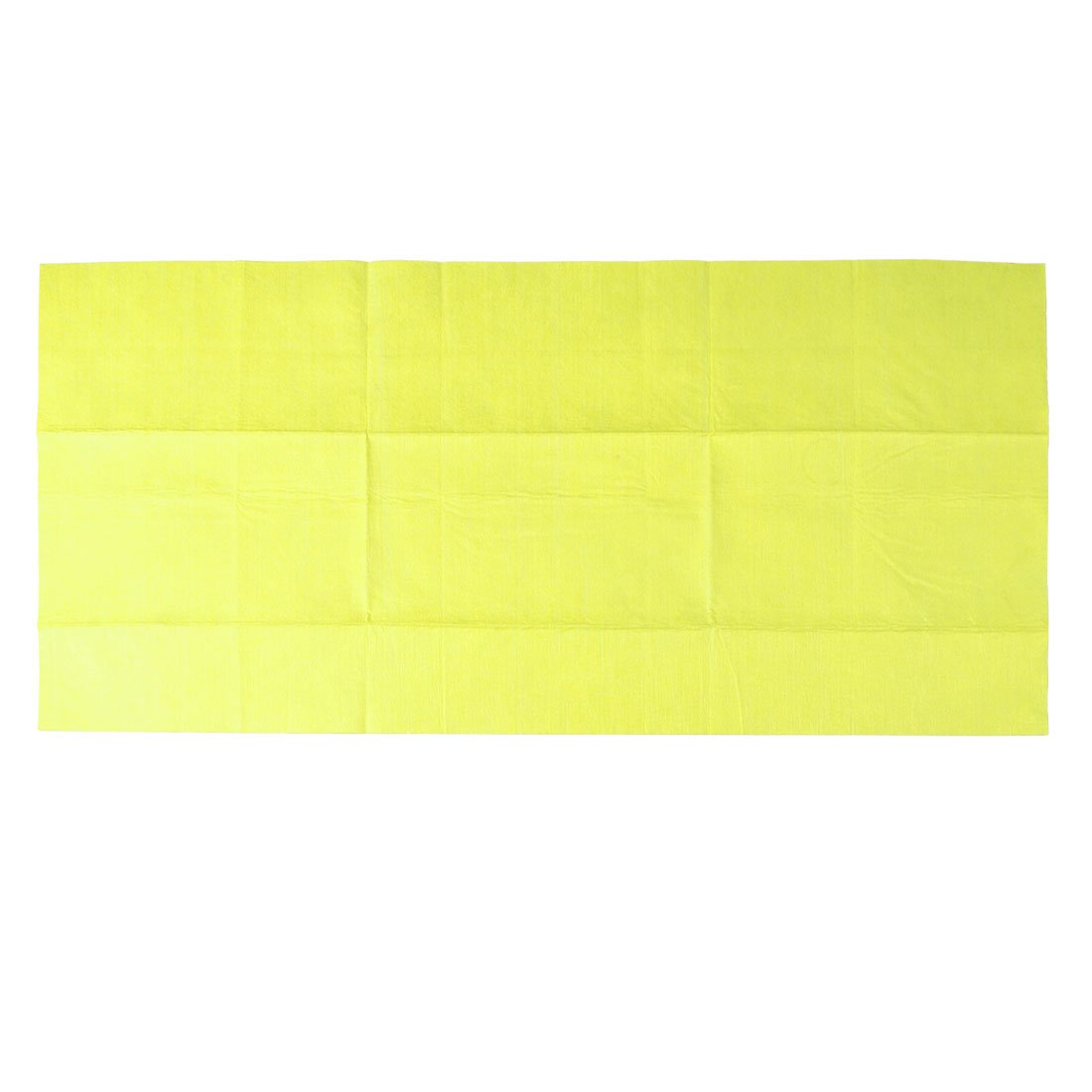 Auto Car Yellow Non-woven Fabric Cloth Cleaning Cleaner 40cm x 80cm car wax wash cleaning polishing expanding sponge pad yellow