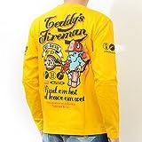 テッドマン TEDMAN Tシャツ 長袖 ロンT シグナル コラボ ファイヤーマン レスキュー tdls-307 44(XL)