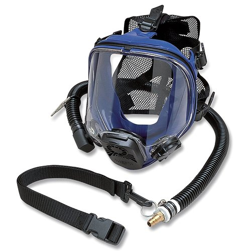 Allegro Industries 9901 Constant Flow Supplied Air Respirator, Full Face, Standard (Full Face Air System compare prices)