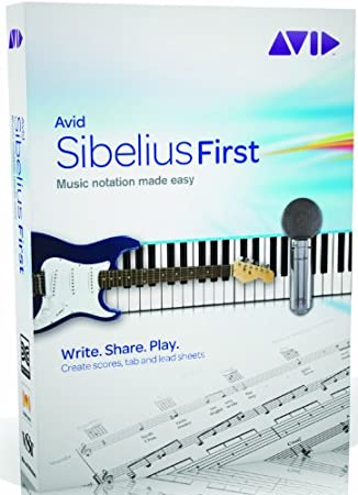 Avid Sibelius First (PC/Mac)