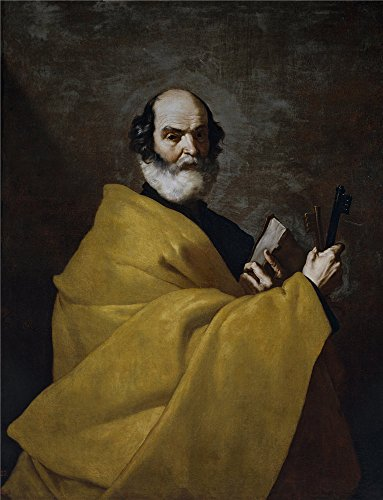 Polyster Canvas ,the High Definition Art Decorative Prints On Canvas Of Oil Painting 'Ribera Jose De San Pedro Ca. 1632 ', 24 X 31 Inch / 61 X 80 Cm Is Best For Game Room Gallery Art And Home Decoration And Gifts