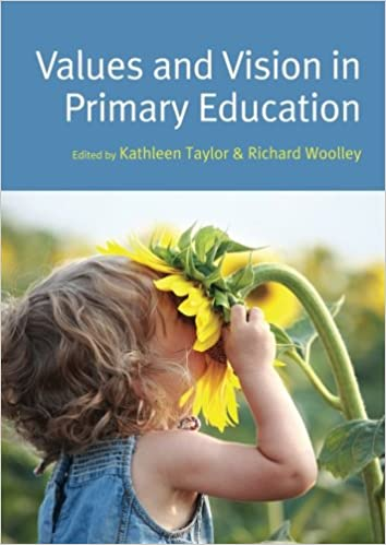 Book cover: values and vision in primary education