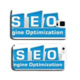 SEO Search Engine Optimization Blue Squares On Top cell phone cover case iPhone5