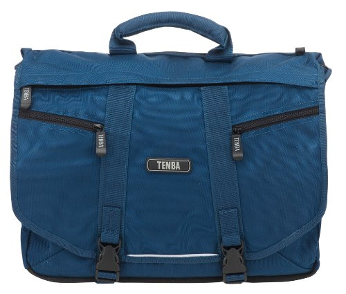 Tenba 638-233 Messenger Large Bag for Camera/Laptop - Blue