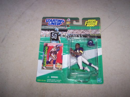 1999 Starting Lineup NFL Football - Randy Moss (Minnesota Vikings)