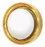 Eurofase 16078-017 Silica 6-Light Wall Sconce, Gold/Mosaic