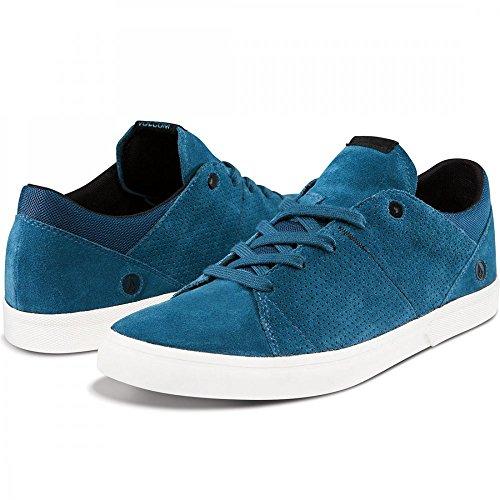 Volcom, Sneaker uomo, blu (vindigo), 7.5