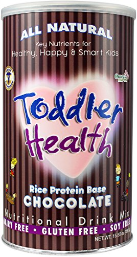 Toddler Health - Nutritional Drink Mix, Dairy, Gluten & Soy Free, Rice Chocolate 20 servings