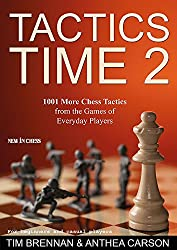 Tactics Time 2- 1001 More Chess Tactics from the Games of Everyday Players