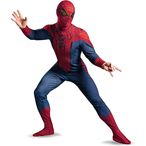 Spider-Man Deluxe Plus Size Costume - 50-52