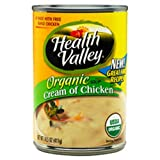 Health Valley Cream Of Chicken Soup Organic, 14.5 Ounce Cans (Pack of 12)