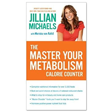 Master Your Metabolism Calorie Counter Book