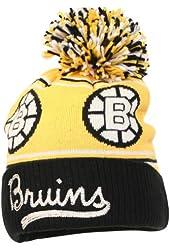 CCM NHL Retro Cuffed Ball Top Winter Knit Hat