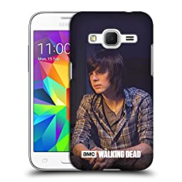 Official AMC The Walking Dead Carl Filtered Characters Hard Back Case for Samsung Galaxy Core Prime