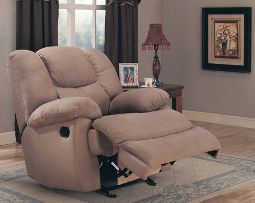 Mocha Rocker Recliner by Coaster Furniture