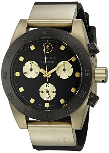 Electric-Unisex-EW0040040014-DW01-SWISS-Analog-Display-Swiss-Quartz-Two-Tone-Watch