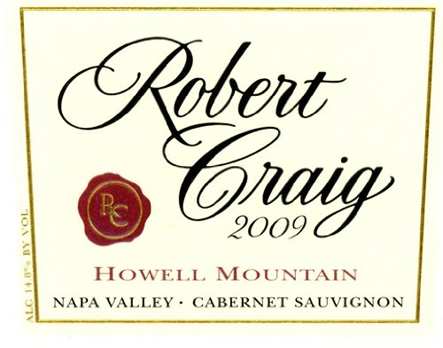 Robert Craig Cabernet Sauvignon Howell Mountain 2009 750Ml