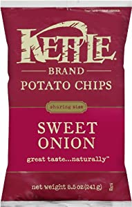 Kettle Brand Sweet Onion, 8.5-ounces (Pack of 6)