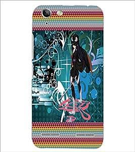 PrintDhaba Fantasy Girl D-5659 Back Case Cover for LENOVO VIBE K5 PLUS (Multi-Coloured)
