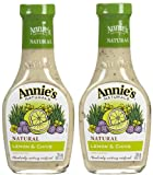 Annies Homegrown Lemon & Chive Dressing (No Vinegar) - 2 pk.