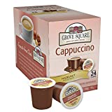 Grove Square Cappuccino Cups, Hazelnut, Single Serve Cup for Keurig K-Cup Brewers, 24-Count