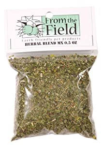 From The Field FFC325 0.5-Ounce Herbal Blend MX Catnip and Valerian Root Bag