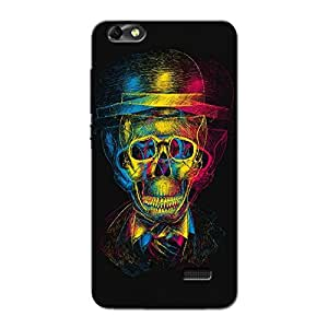 HIGH SKULL BACK COVER FOR HONOR 4C