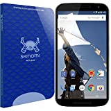 Skinomi Tech Glass - Google Nexus 6 Glass Screen Protector with Lifetime Replacement Warranty / Ultra Thin (.33mm Thickness) Premium Tempered Glass - Crystal Clear 9H Hardness with Oleophobic Coating - 99% Clarity and Touchscreen Accuracy - Retail Packaging