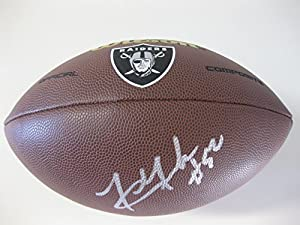 Khalil Mack, Oakland Raiders, Signed, Autographed, NFL Logo Football, a COA with the... by Coast to Coast Collectibles