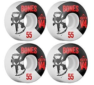 Buy Bones STF V4 Standard Skateboard Wheels by Bones Wheels & Bearings