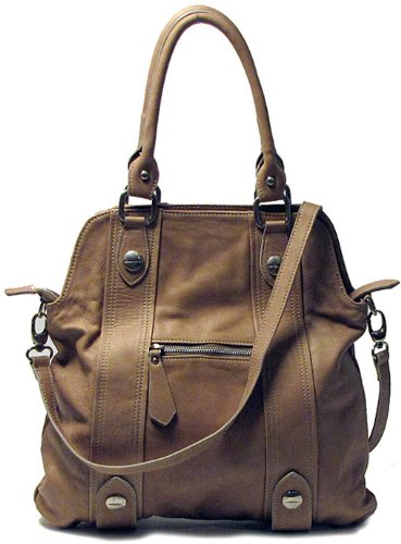 Floto Luggage Bolotana Handbag, Beige, Medium