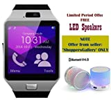 #4: Captcha (Top Selling) Latest Edition Smart Watch with Sim/Memory Card Slot, Camera (One Year Warranty) FREE GIFT OFFER - S10 Bluetooth Speakers For Men/Women/Kids