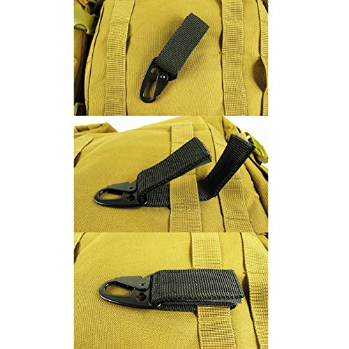 High quality nylon velcro gear keeper pouch can be used as key chain